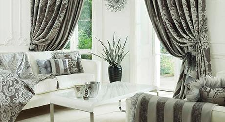 Дизайн и пошив штор и текстильного интерьера