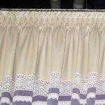 Складка буфы-вафельки. Интересный и простой благодаря шторной ленте способ отделки верхнего края