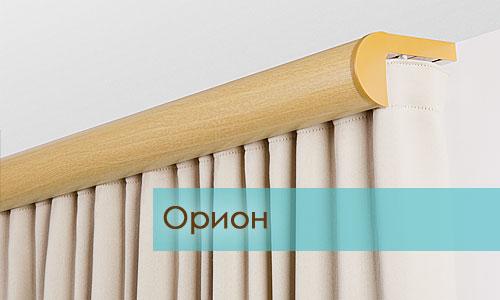 Орион, потолочный багет под дерево с прямой планкой
