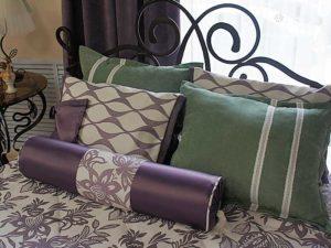 Дизайн подушек ипокрывала на заказ для кроватей