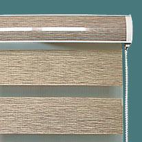Двусорйные рулонные шторы день ночь с красивым коробом изготовим быстро