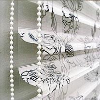 3D рулонные шторы с необычным эффектом двойного затенения