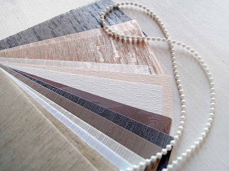 Вертикальные жалюзи на заказ под лен, натуралку, современные материалы