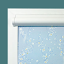 Рулонные шторы блэкаут УНи 1 на окна ПВХ
