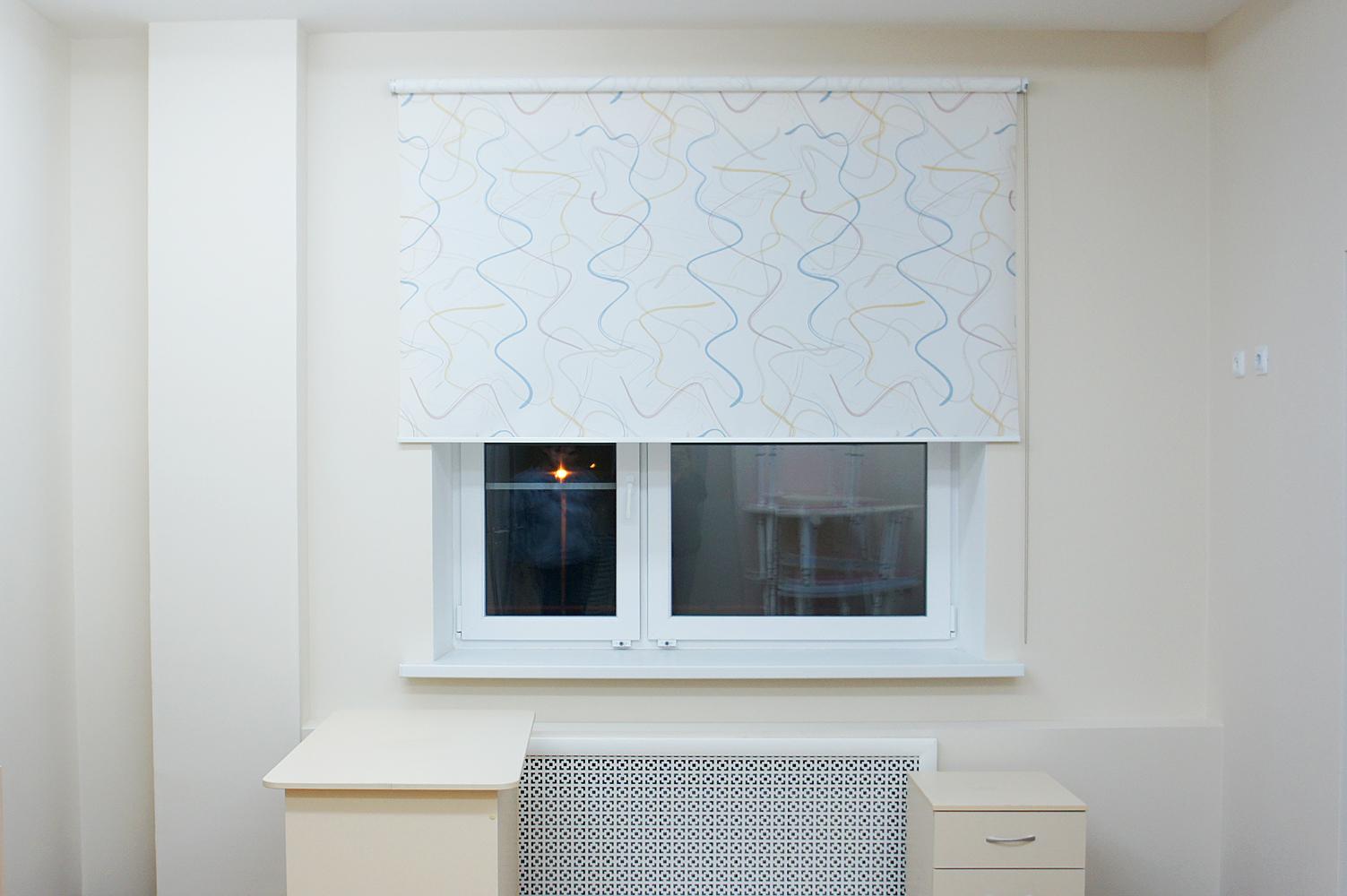 Рулонные шторы Дали, по индивидуальным размерам