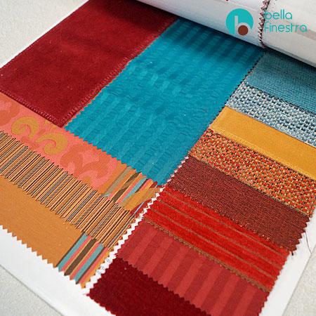 Горячая палитра негорючего текстиля Treatex