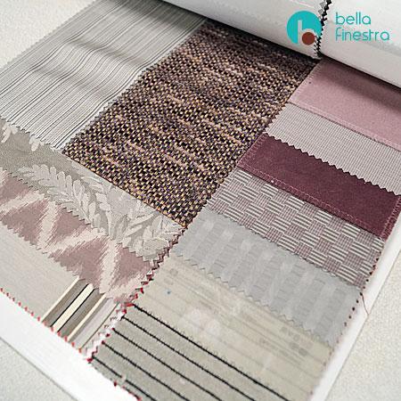 Припудренный розовый, комплект мебельных и портьерных тканей Tratex из волокон Trevira